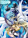 Angewomon and ladydevimon re collectors card