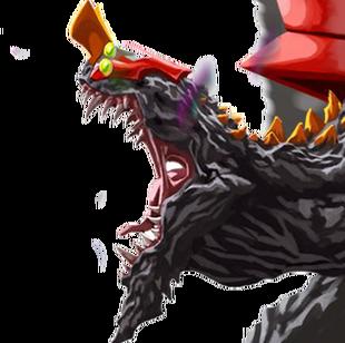 Eva-02 Beast Godzilla Mode