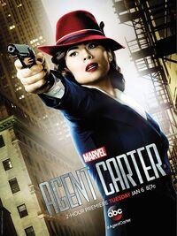 Agent Carter MCU Poster