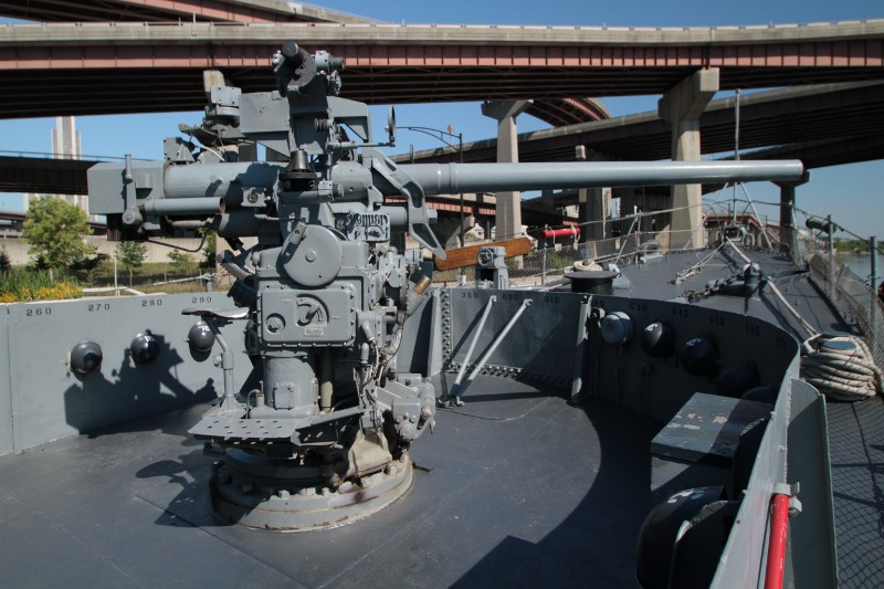 "3""/50 caliber Mark 22 gun"