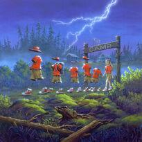 Camp Spirit Moon Residence (Goosebumps)