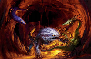 Giant Lizard (Dungeons and Dragons)
