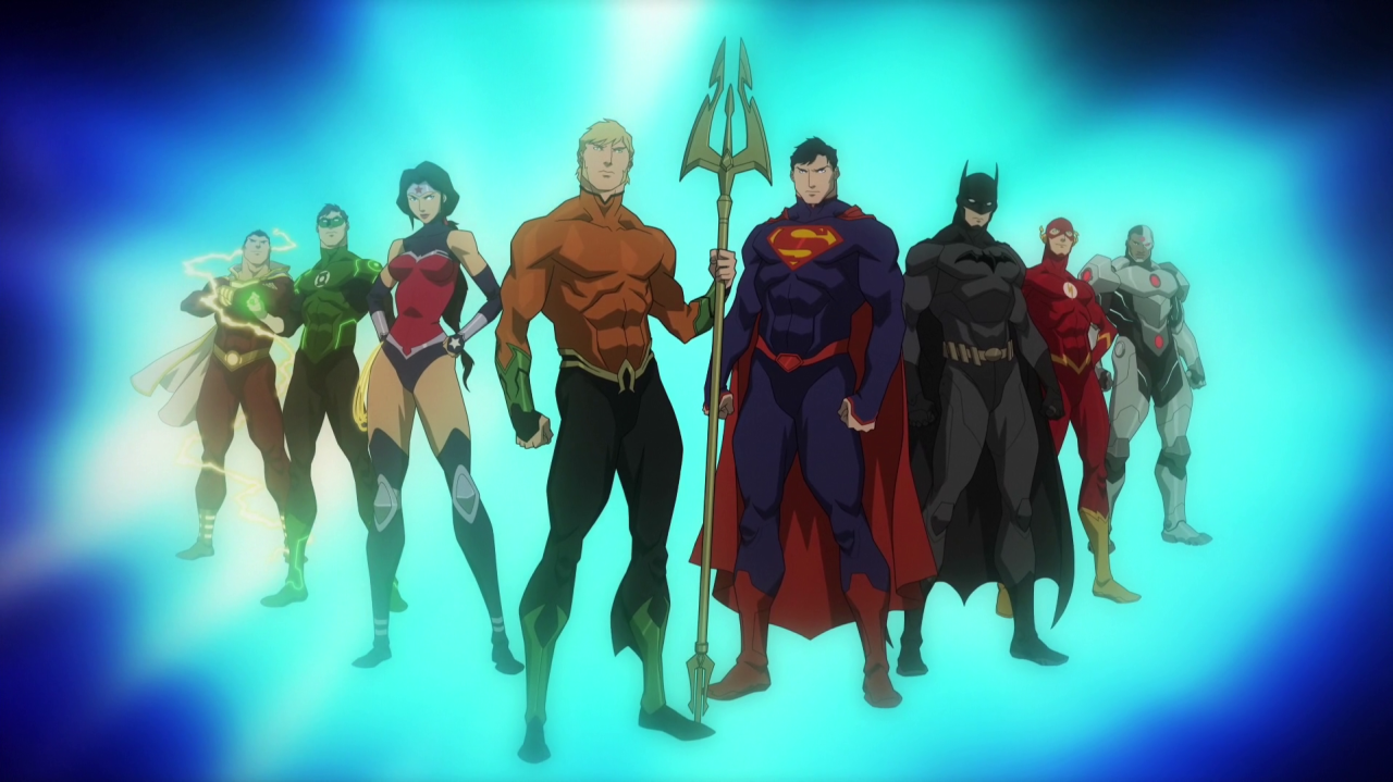 DC Animated Movies (Universe)