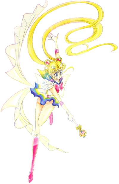 Usagi Tsukino Sailor Moon Super Crisis Form - Manga.png