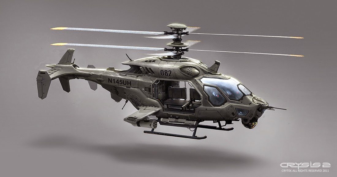 AH-50 Attack Helicopter