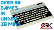 Over 50 Oric Games In Under 30 Minutes