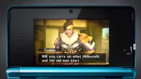 Official Chronicles Samurai Warriors Nintendo 3DS HD video game trailer - 3DS