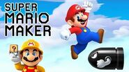 WATCH FOR DEATH!!! Super Mario Maker Gameplay 3