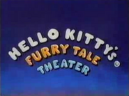 Hello Kitty's Furry Tale Theater title card