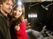 2019-11-13-Ian Somerhalder-Meiling Jin-selfie