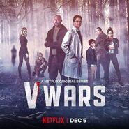 Poster-Ava-Mila-Fayne-Swann-Dez-Saint-Kaylee-A Netflix original series-VWars-Netflix-Dec 5