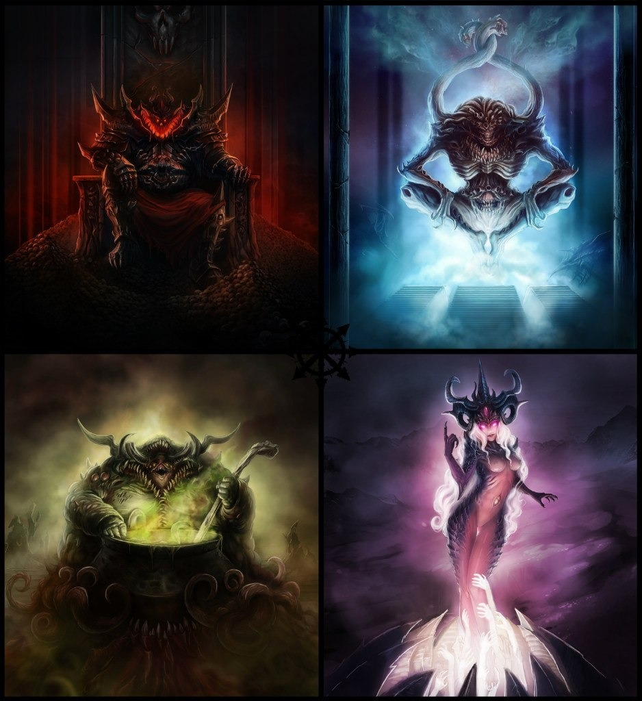 Liste des Légions de Démon du Chaos