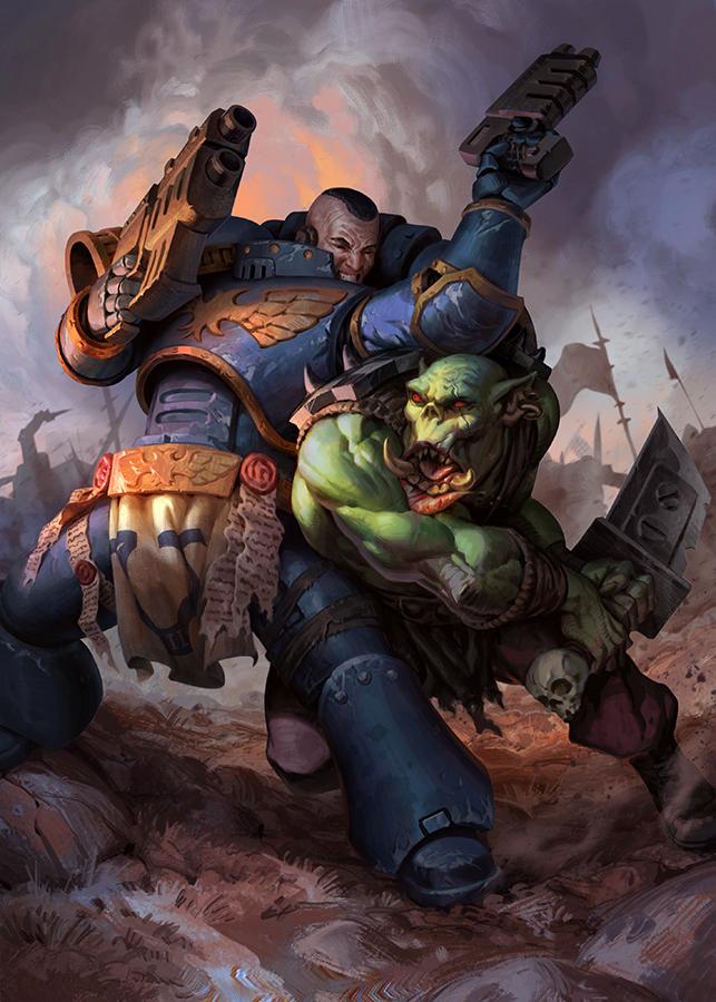 Chronologie générale de l'univers de Warhammer 40k.