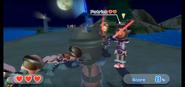 Patrick wearing Purple Armor in Swordplay Showdown