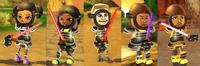 Black armor types
