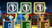 Emily, Takashi, and Chika in Buddy Quiz