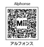 HEYimHeroic 3DS QR-050 Alphonse