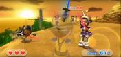 Jake wearing Purple Armor in Swordplay Showdown