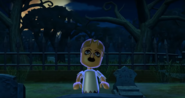 Greg as a Zombie in Zombie Tag in Wii Party
