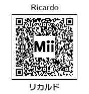 HEYimHeroic 3DS QR-046 Ricardo