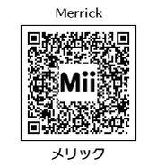 HEYimHeroic 3DS QR-052 Merrick