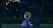 Saburo as a Zombie in Zombie Tag in Wii Party