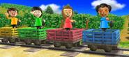 Miyu, Abby, Rin, and Luca in Risky Railroad