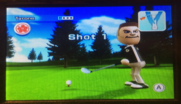 Tyrone in Golf