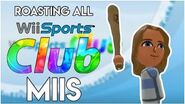 Roasting ALL Wii Sports Club CPUs 100 SUBSCRIBER SPECIAL