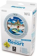 Wii Sport Resort and Motion Plus Box
