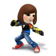 WiiU-N3DS SuperSmashBros MiiFighterCostume-SmashBrosTshirt char 02