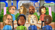 Barbara, Abby, Matt, Fumiko, Ryan, Maria, Eddy, and Emma featured in Smile Snap in Wii Party