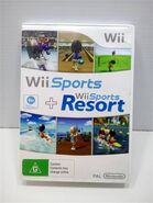 Wii Sports and Wii Sports resort bundle case
