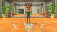 Wii Fit U Burning Beats Dance