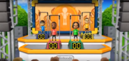 James, Tatsuaki, and Shohei participating in Chin-Up Champ in Wii Party