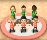 Hiromasa, Sandra, Silke, and Pablo featured in Swap Meet in Wii Party