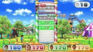 Wii Party U Minigame Showcase - Jumping Target