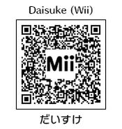 HEYimHeroic 3DS QR-002 Daisuke-Wii