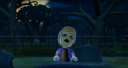 Alisha as a Zombie in Zombie Tag in Wii Party