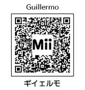 HEYimHeroic 3DS QR-045 Guillermo