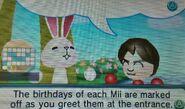 Chris' Birthday questionmark