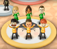 Gabi, Chika, Rainer, Akira, and Michael featured in Swap Meet in Wii Party