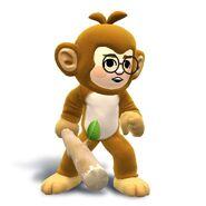 WiiU-N3DS SuperSmashBros MiiFighterCostume-Monkeyt char 01