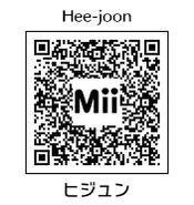 HEYimHeroic 3DS QR-006 Hee-joon