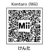 HEYimHeroic 3DS QR-008 Kentaro-Wii