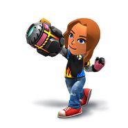 WiiU-N3DS SuperSmashBros MiiFighterCostume-SmashBrosTshirt char 06