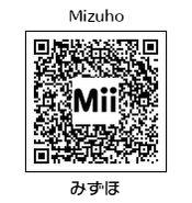 HEYimHeroic 3DS QR-033 Mizuho