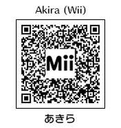 HEYimHeroic 3DS QR-004 Akira-Wii