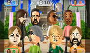 Miguel, James, Lucia, and Megan featured in Smile Snap in Wii Party