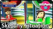 Wii Party U - Sketchy Situation (4 Players)